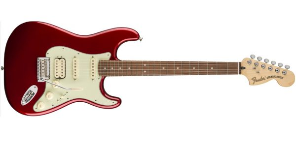 Fender Deluxe Stratocaster HSS PF Candy Apple Red