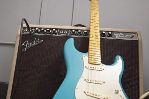 Fender AM Professional II Stratocaster MN Mystic Surf Green